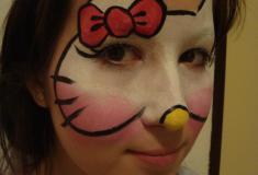 dětský den-malování obličeje